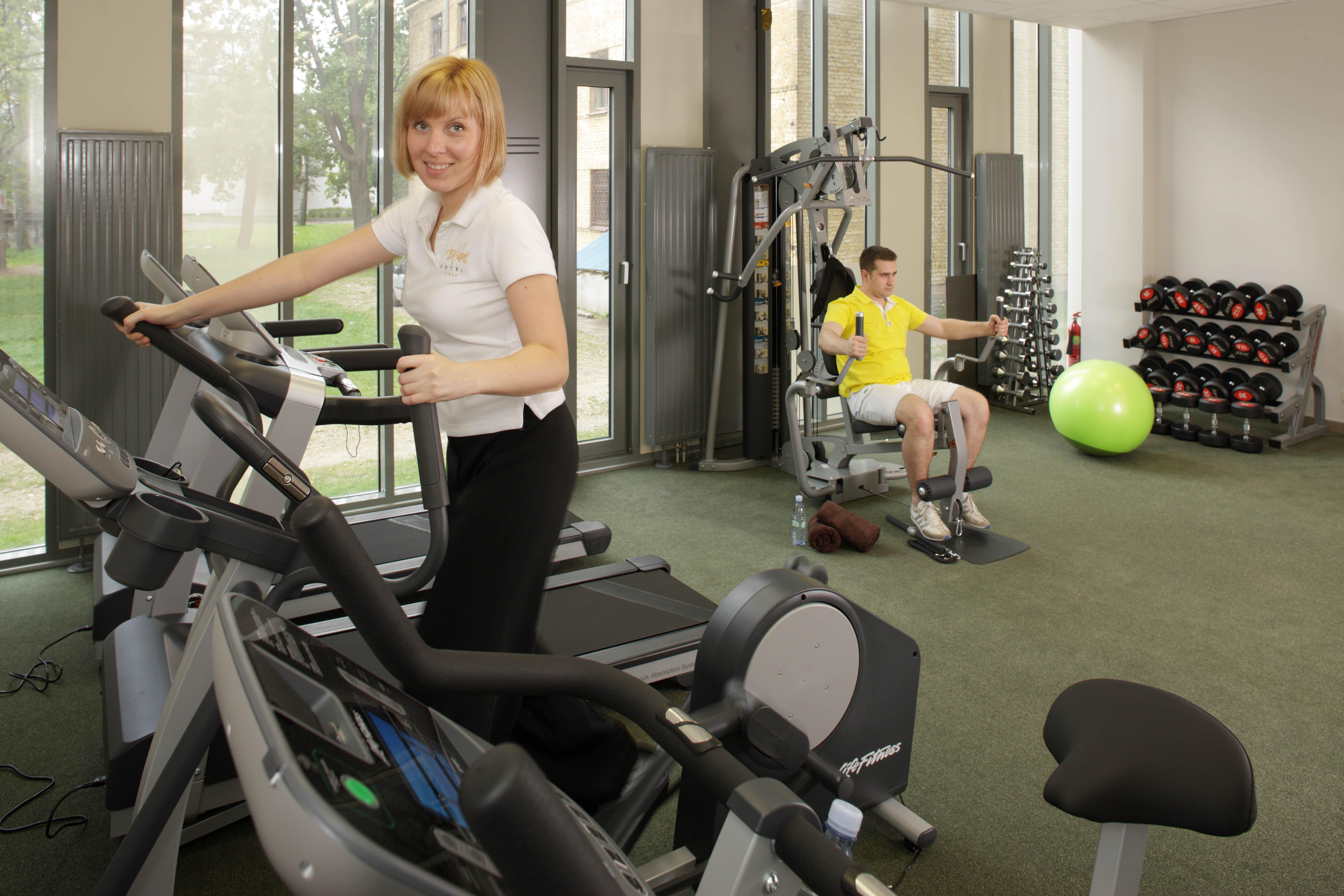 Fitness hotel Riga